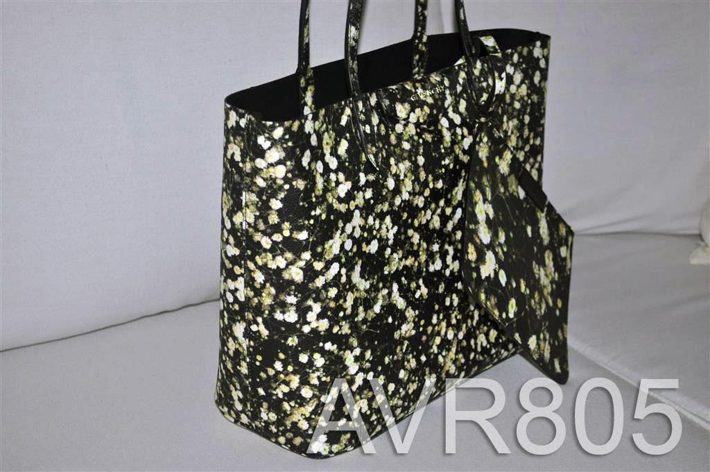 e97e90909b Givenchy Antigona Shopper Tote Small Black Baby's Breath Floral Print Brand  New