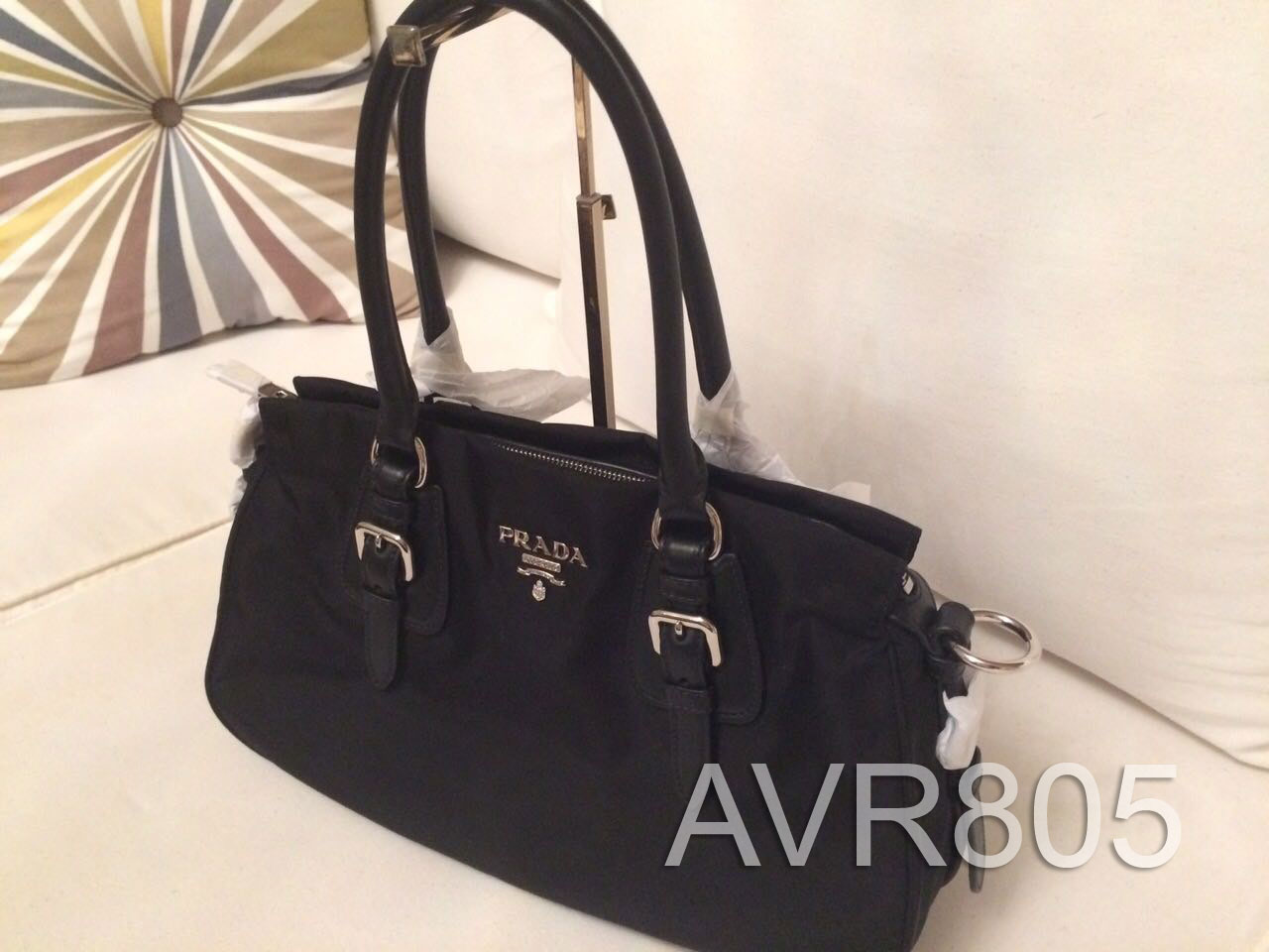 b4f3add54fde ... bauletto 71285 fb2d6; italy prada 1ba021 nero black tessuto soft calf  top handle shopping tote brand new dd4a3 ef754