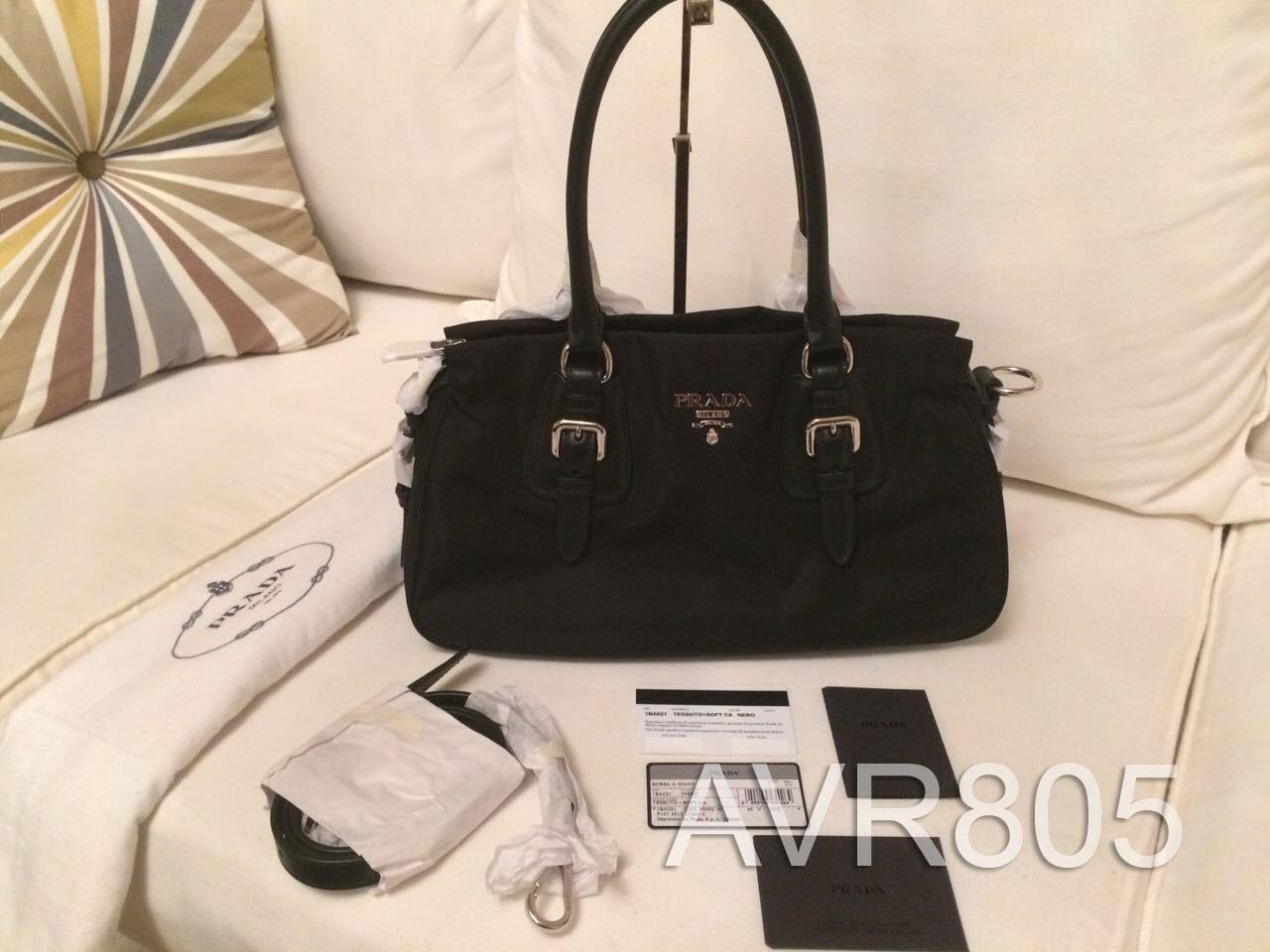 fb8e10dfc17e ... italy prada 1ba021 nero black tessuto soft calf top handle shopping tote  brand new d79c6 f57f9
