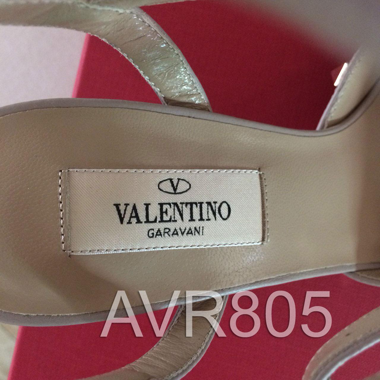 2a05248a3bc Valentino Rockstud Ankle Strap Slingback 2.6″ Heel Black Size 36.5 Brand New