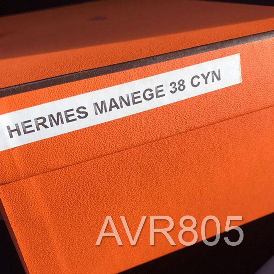 9ee15f5bd6e5 Hermes Manege Sandal Multicolore Noir Black Euro Size 38 Brand New In Box