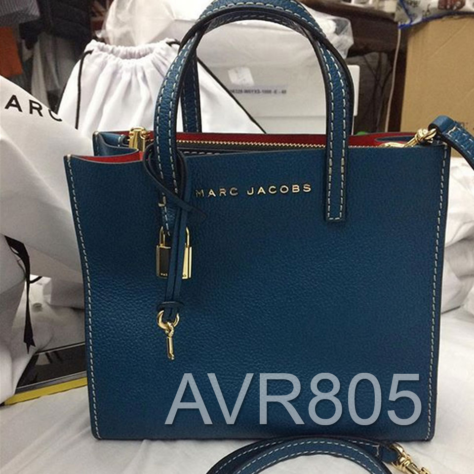 Marc Jacobs Mini Grind Tote Crossbody Bag Teal Brand New With Tags ...